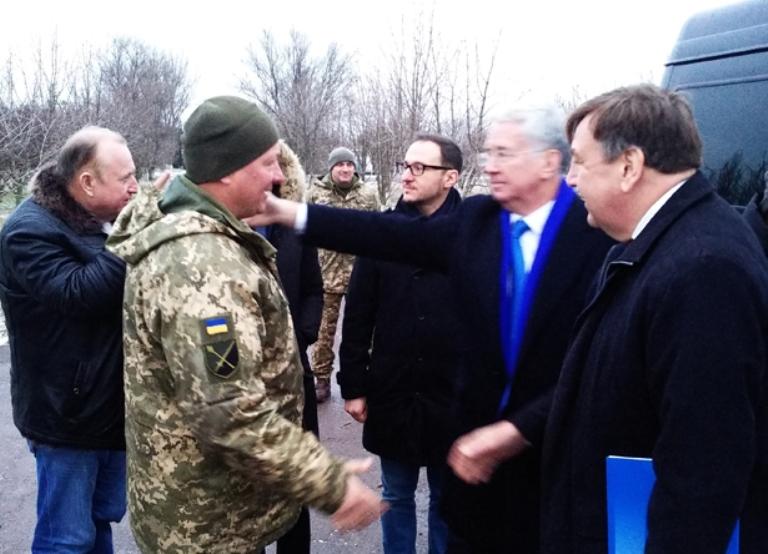 Бердянськ відвідали два члени Парламенту Великої Британії: екс-міністри уряду (ФОТО)