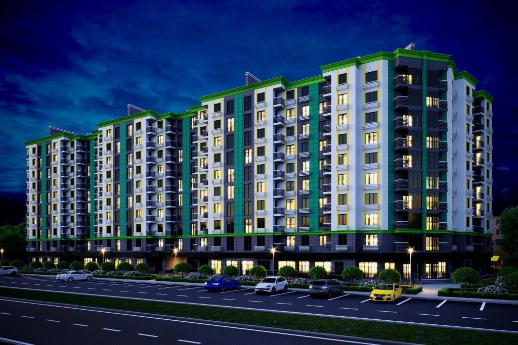 В Бородинском микрорайоне Запорожья начато строительство современного жилого комплекса «Comfort City»