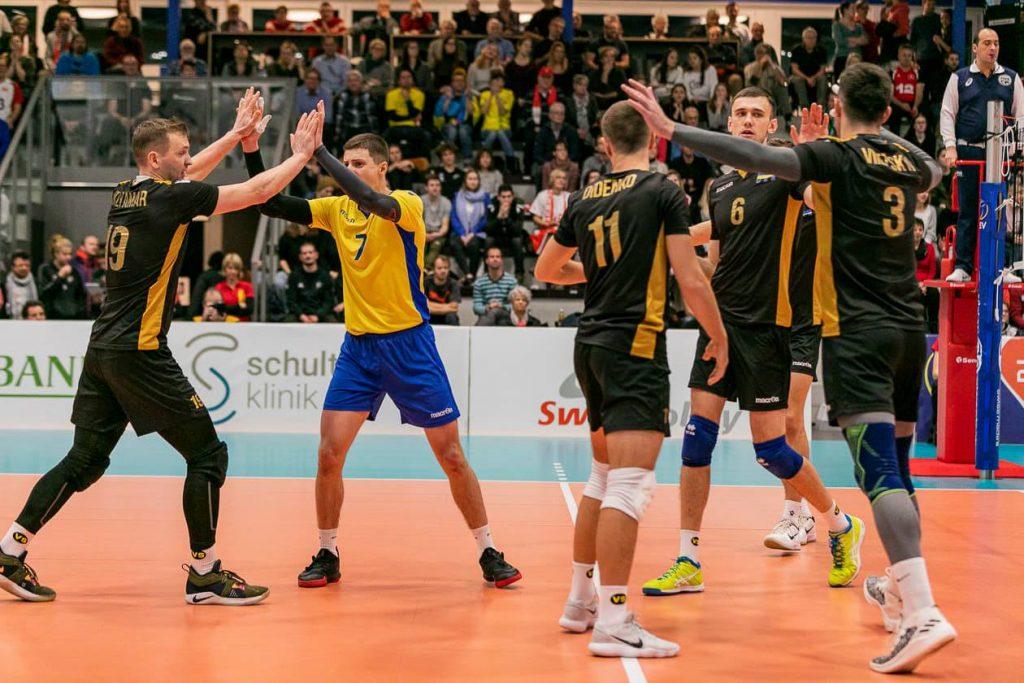 Сборная Украины по волейболу вышла на Чемпионат Европы, добыв 6 побед в 6 матчах на групповом этапе