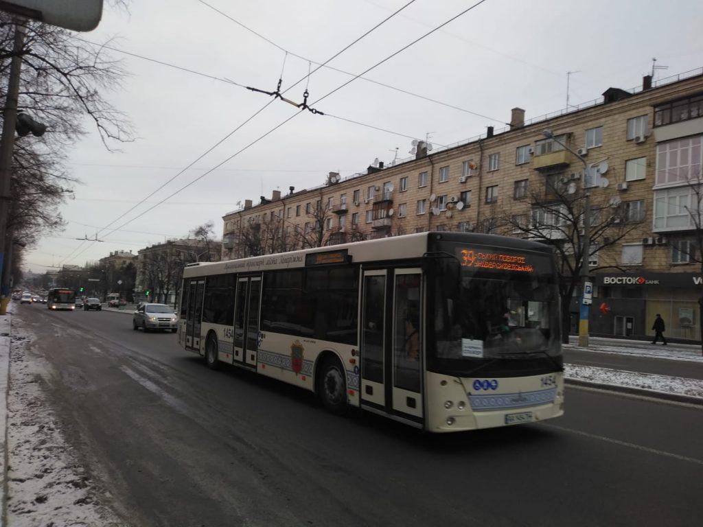 В Запорожье запустили новый 39-й автобусный маршрут: как часто ездит и что показывает онлайн-карта