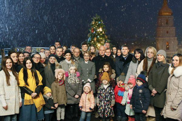 Звернення Юлії Тимошенко з нагоди Нового року та Різдва Христового!