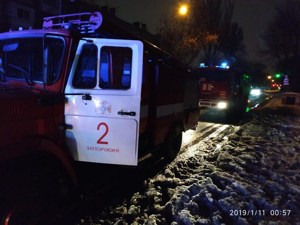 В Запорожье горело общежитие: эвакуировали 50 человек (ФОТО)