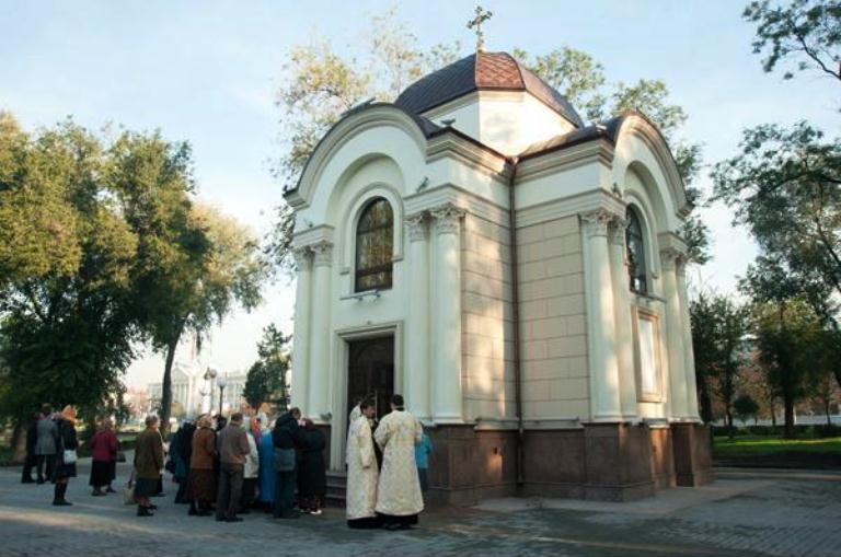 В Запорожье осквернили еще один храм бывшей УПЦ МП (ФОТО)