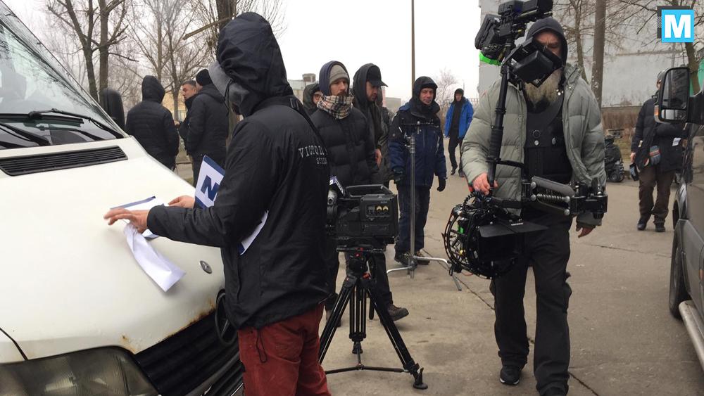 В сети появились фото со съемок триллера в Запорожской области (ФОТО)