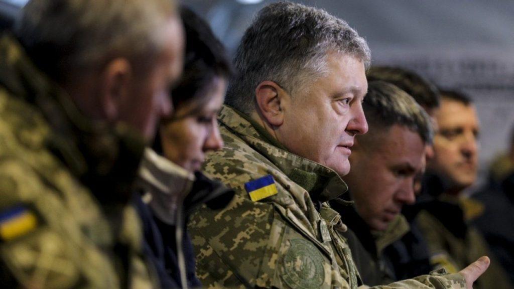 Воинские части ВСУ в интернете размещают агитацию со слоганами избирательной кампании Порошенко (ФОТО)