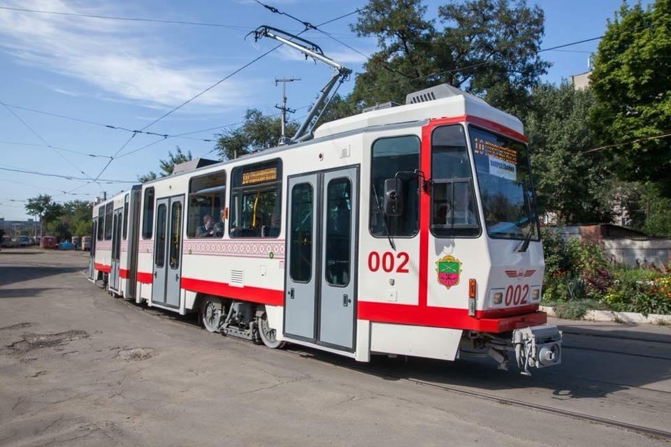 В Запорожье из-за ремонта приостановят движение трамваев