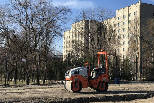Как проходит реконструкция проспекта Маяковского (ФОТОРЕПОРТАЖ)