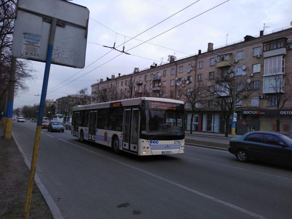 В Запорожье запустили новый маршрут с Кичкаса на Пески: сколько автобусов на линии (ФОТО)