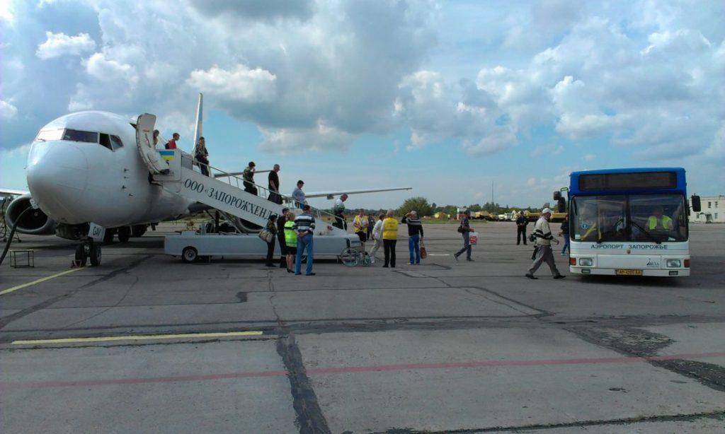 Пассажиров больше, рейсы на месте: в запорожском аэропорту подвели итоги работы с начала 2019 года