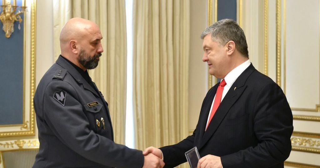 Рокировка в СНБО: Порошенко вместо Гладковского назначил Кривоноса, снявшегося с выборов в пользу президента