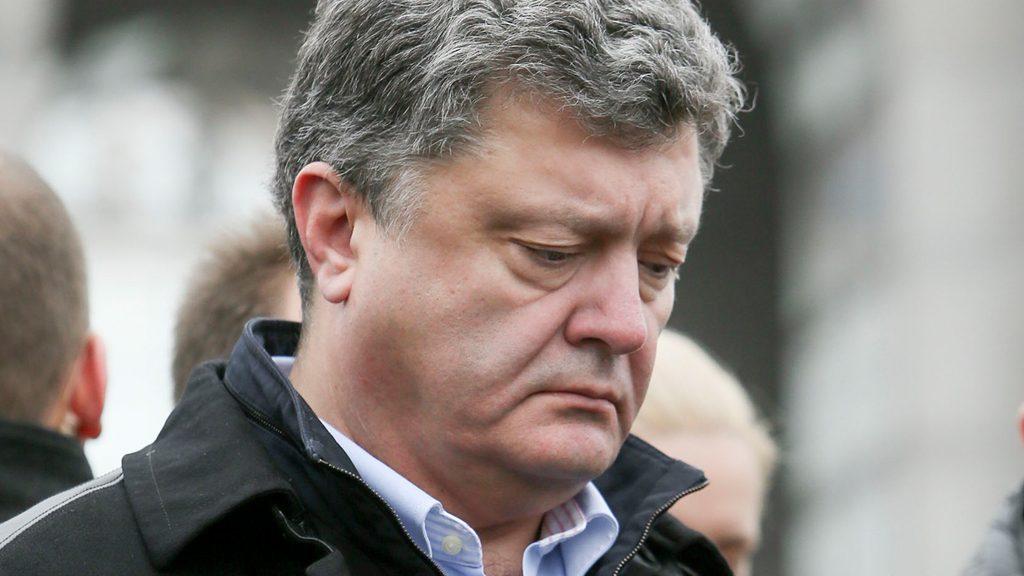 Соцопрос центра «София» зафиксировал падение рейтинга Порошенко