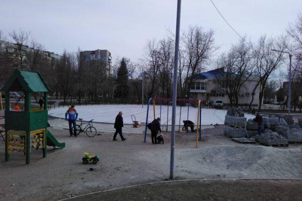 В Запорожье возобновилась реконструкция парка Гагарина: что установят для детей (ФОТОРЕПОРТАЖ)