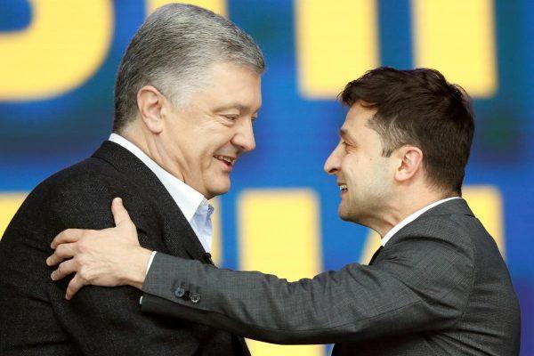 Выборы президента: главное из заявлений Зеленского и Порошенко (ВИДЕО)