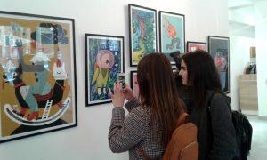 Сучасні українські ілюстратори показали свої роботи у Запоріжжі (ФОТО)