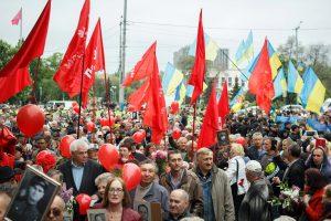 Два разных мира: как в Запорожье прошло 9 мая (ФОТОРЕПОРТАЖ)
