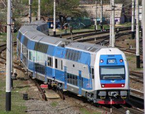 Запорожцы смогут с комфортом добраться на курорт в фирменном двухэтажном поезде