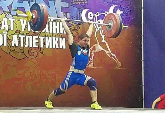 Важкоатлети ЗНУ вибороли три «золота» молодіжного чемпіонату України