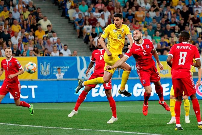Украина в отборе на Евро-2020 обыграла Люксембург (ВИДЕО)
