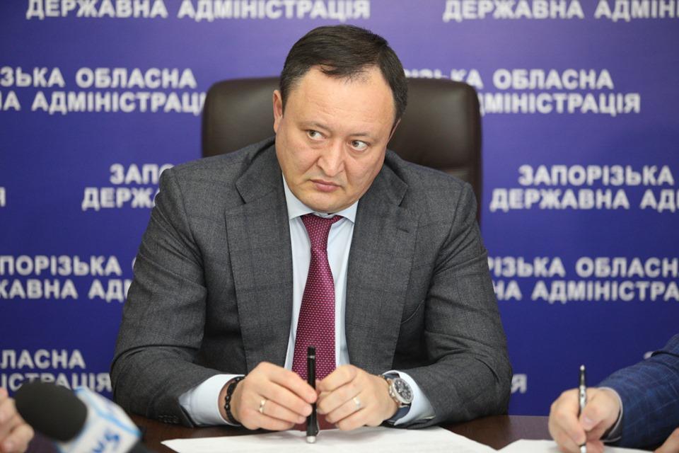 Зеленский уволил с должности запорожского губернатора Брыля