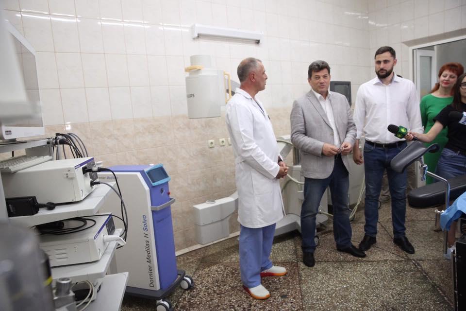 В 5-ой горбольнице Запорожья заработает новое оборудование