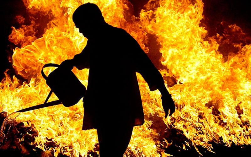 Поджег и погиб на месте: в Запорожской области произошла трагедия