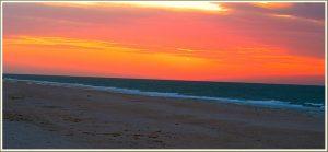 Небо над морем в Запорожской области удивило своей красотой (ФОТО)