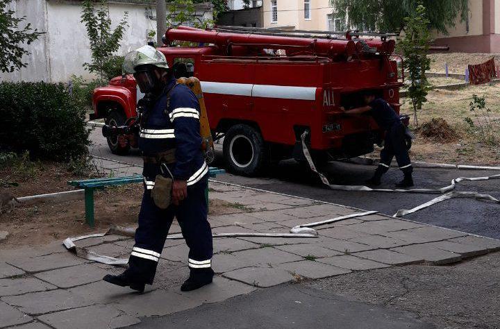 В Запорожской области мужчина не смог выбраться из горящей квартиры (ФОТО)