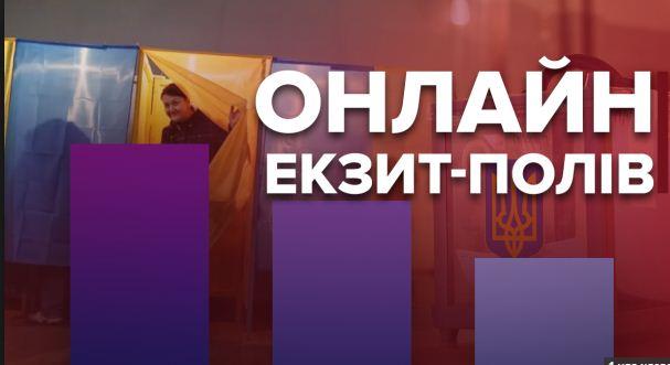 Официальные результаты экзит-полов: в Верховную Раду проходит 5 партий
