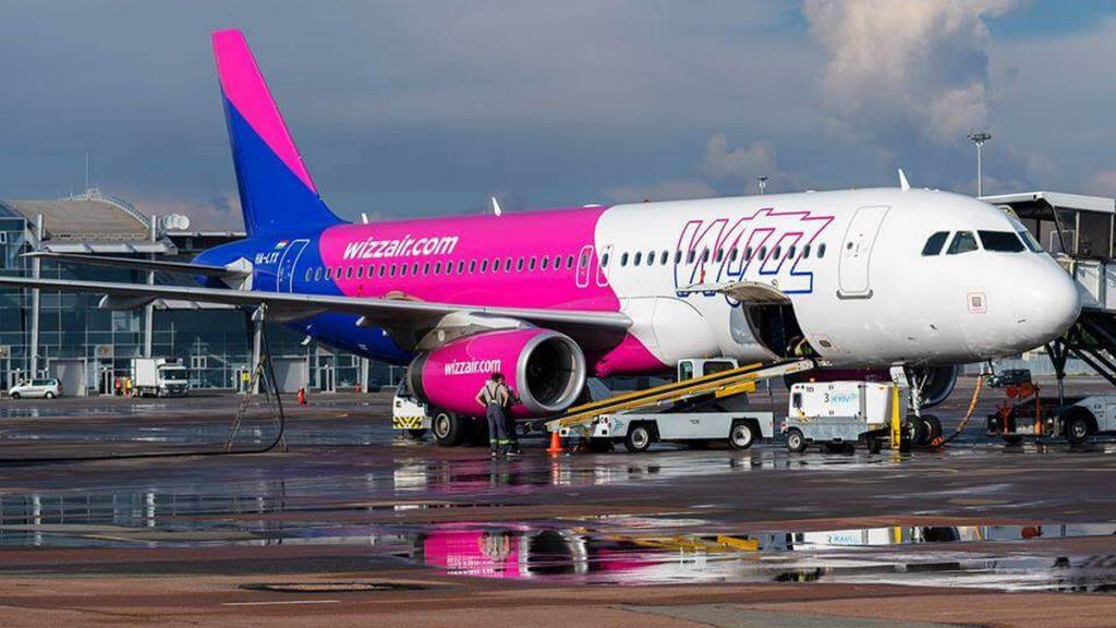В запорожский аэропорт заходит лоукостер Wizz Air:   названы 6 новых направлений