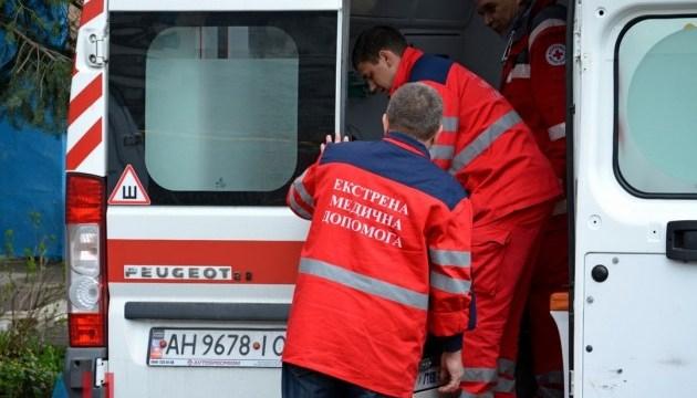 В Запорожской области водителю пришлось на ходу выпрыгнуть из грузовика
