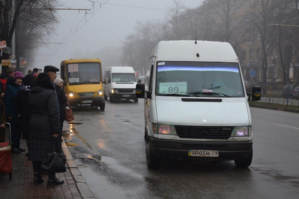 В Запорожье предлагают обезопасить для окружающих все маршрутки-«спринтеры»