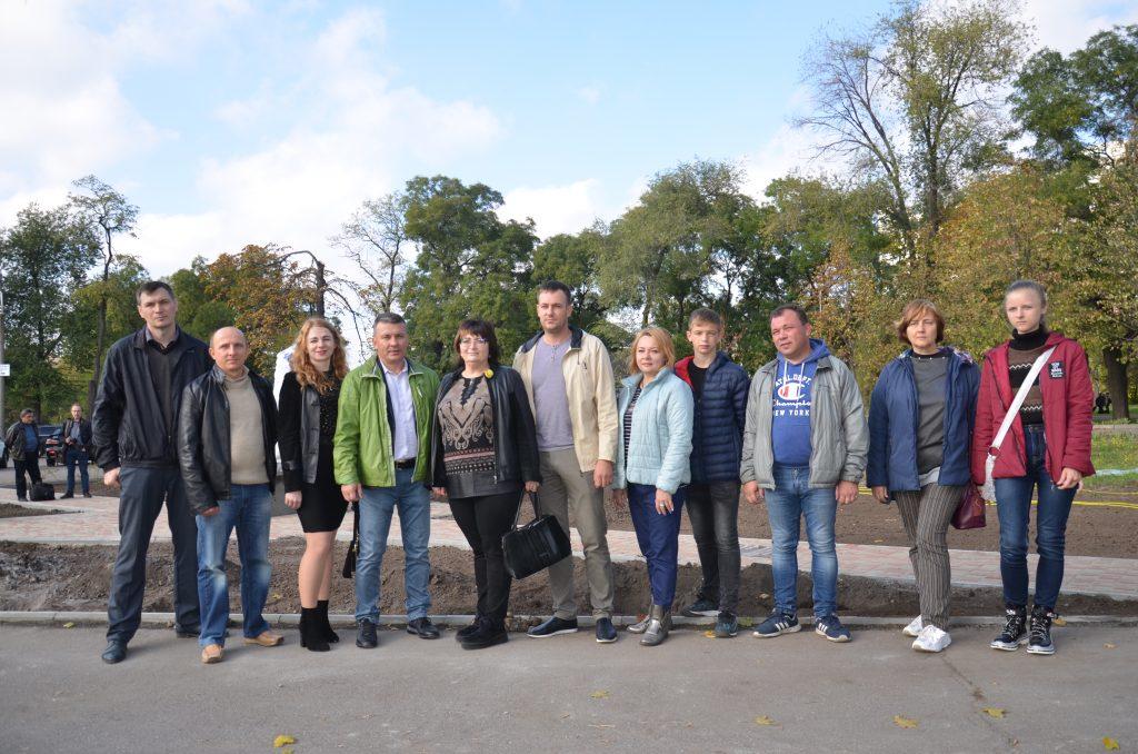 У Запоріжжі з'явилася нова рекреаційна зона завдяки Партії Зелених України та Товариству польської культури