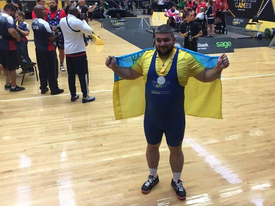 Важкоатлет та ветеран АТО із Запоріжжя оновив власний рекорд на Іграх нескорених (ФОТО)