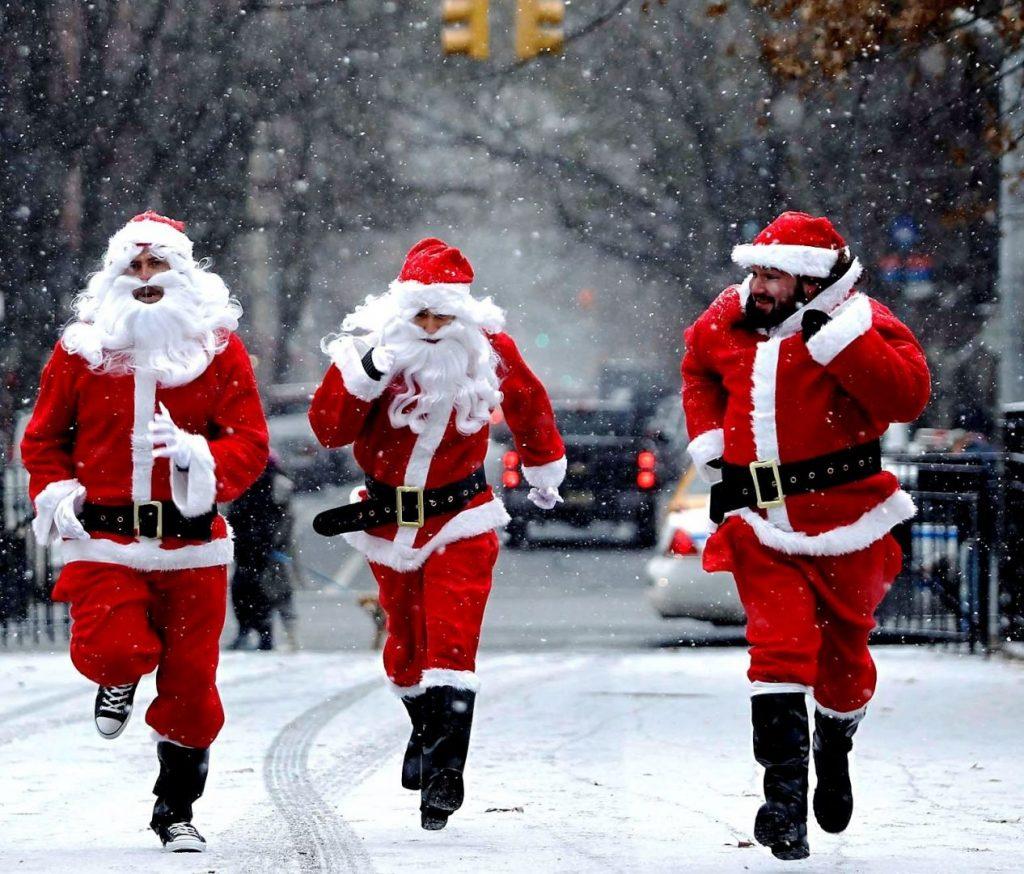 В Запорожье состоится рождественский забег «Догони Деда Мороза»