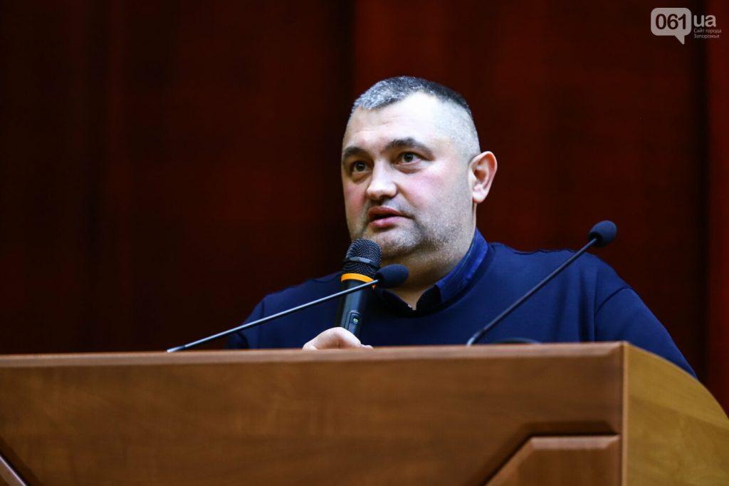 В Запорожском облсовете  депутаты из «группы 44-х» избрали нового председателя и замов