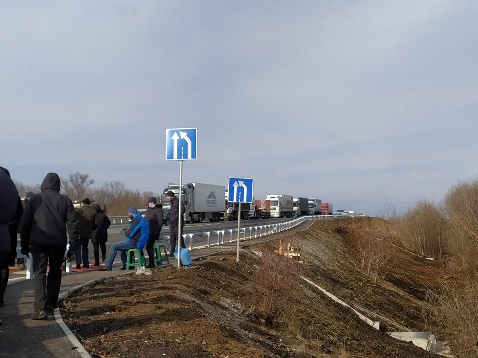 Перекрытие трассы «Харьков-Симферополь»: людям грозит уголовная ответственность