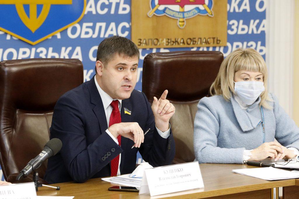 Заместитель председателя Запорожского областного совета пообещал отправить коллег в морг