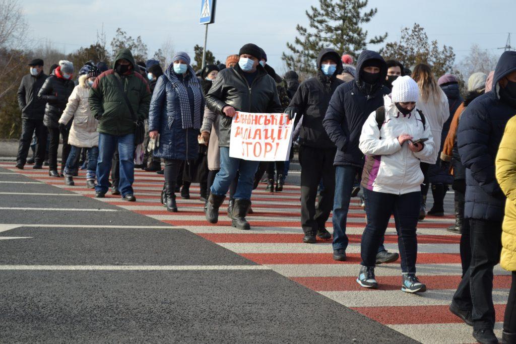Глава ЗОГА поддержал протестующих под Вольнянском (ФОТО)
