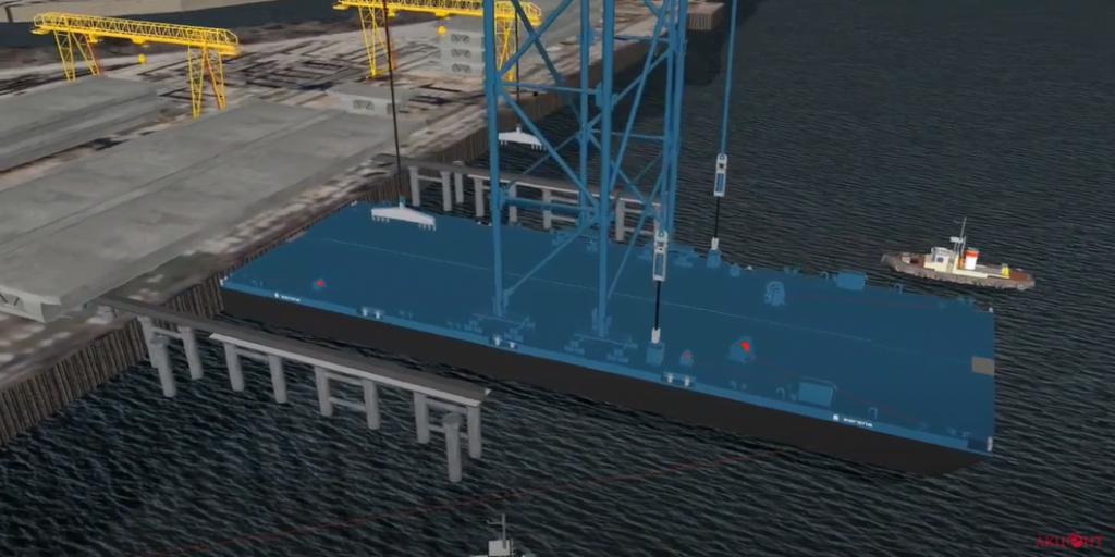 Как в Запорожье будут собирать вантовый мост (ВИДЕО)