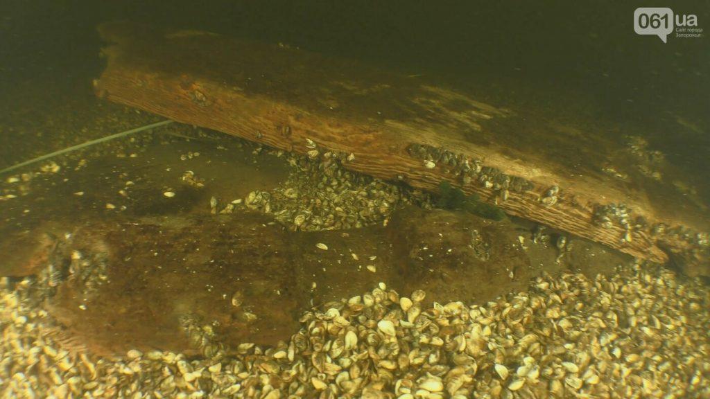 Археолог рассказал о судне, которое лежит на дне Днепра в Запорожье (ФОТО)
