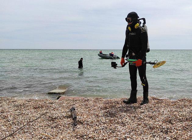 В Приморске на дне водолазы нашли раритетную винтовку (ФОТО, ВИДЕО)