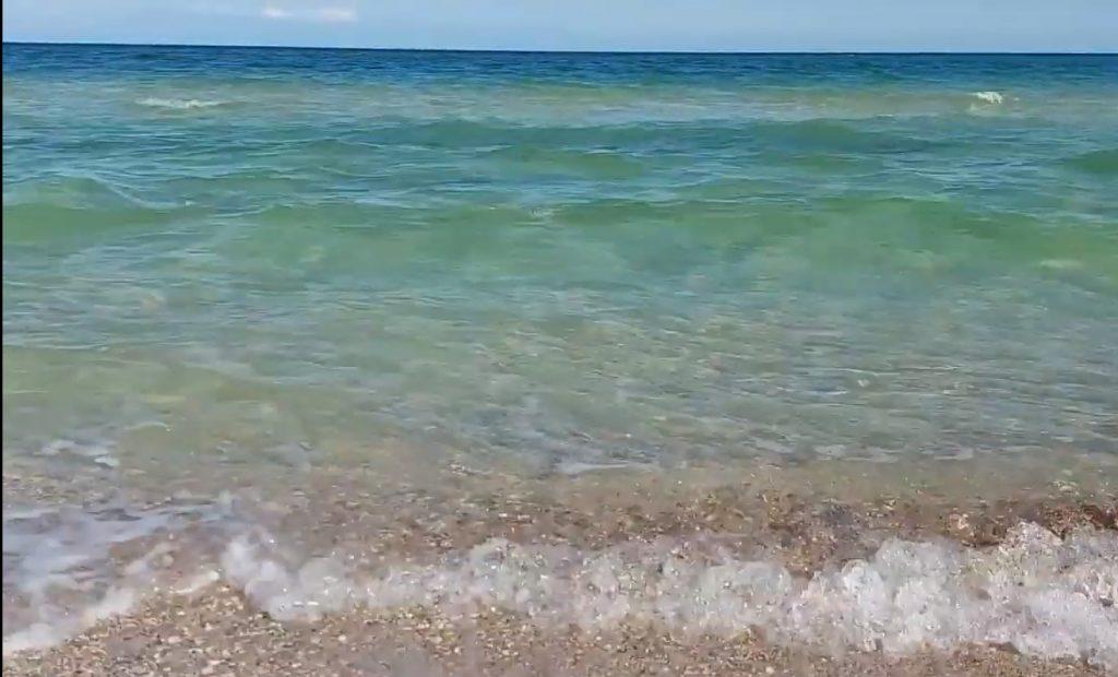 Азовское море без медуз: Бирючий остров сегодня