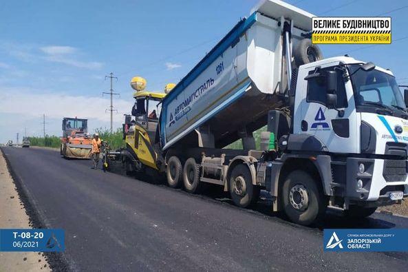 Насколько продвинулся ремонт дороги в направлении Кирилловки