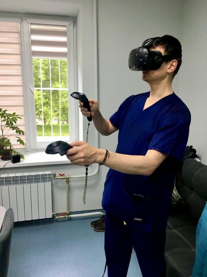 Впервые: в Украине провели операцию с использованием виртуальной реальности