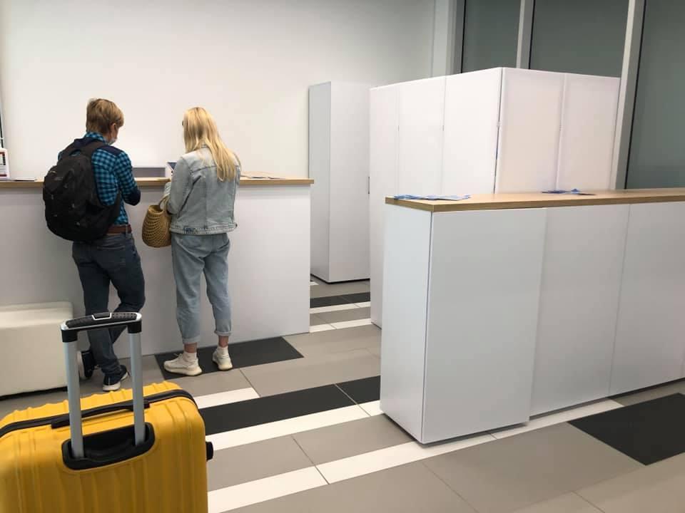В аэропорту Запорожья можно сдать экспресс-тест на COVID-19: цена и условия