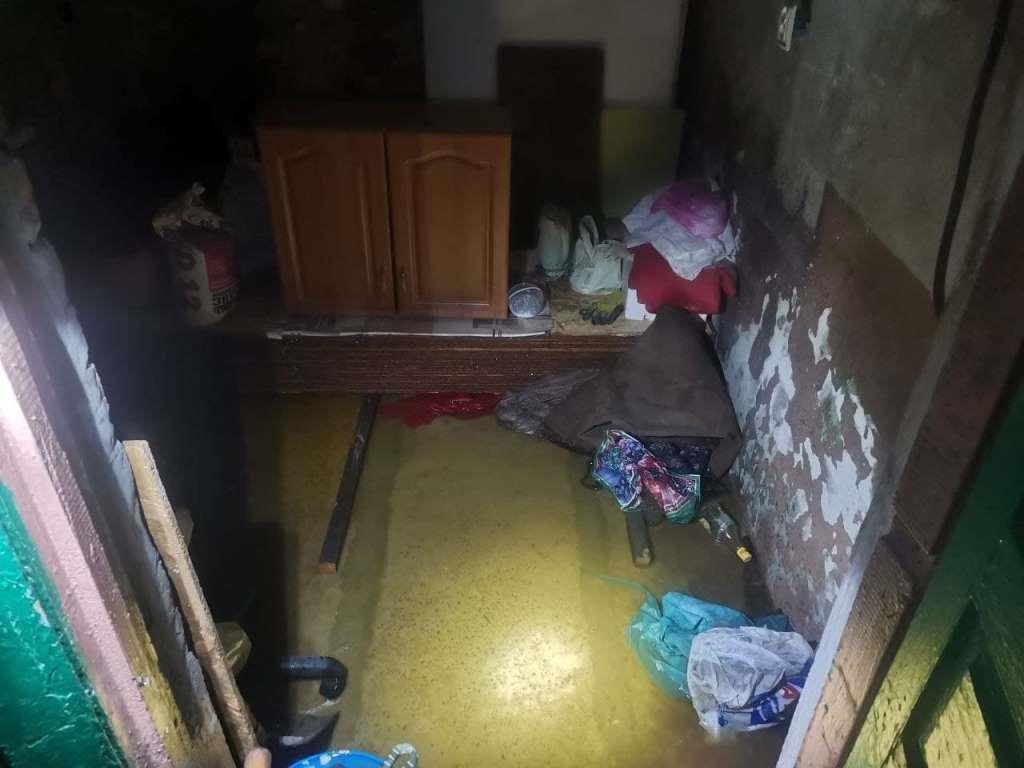 Спасатели показали последствия затопления домов в Запорожской области (ФОТО)