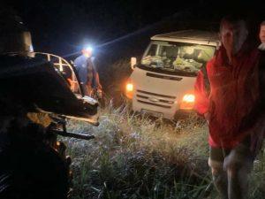 Шторм на запорожских курортах: в ловушке стихии оказались 20 автомобилей с 50 людьми (ФОТО)