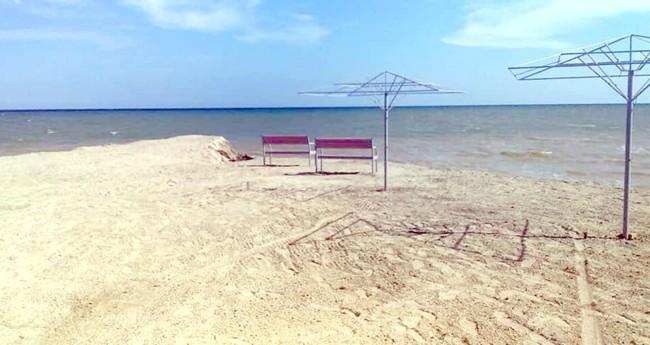 Появилась новая зона отдыха на побережье Азовского моря в Запорожской области (ФОТО)
