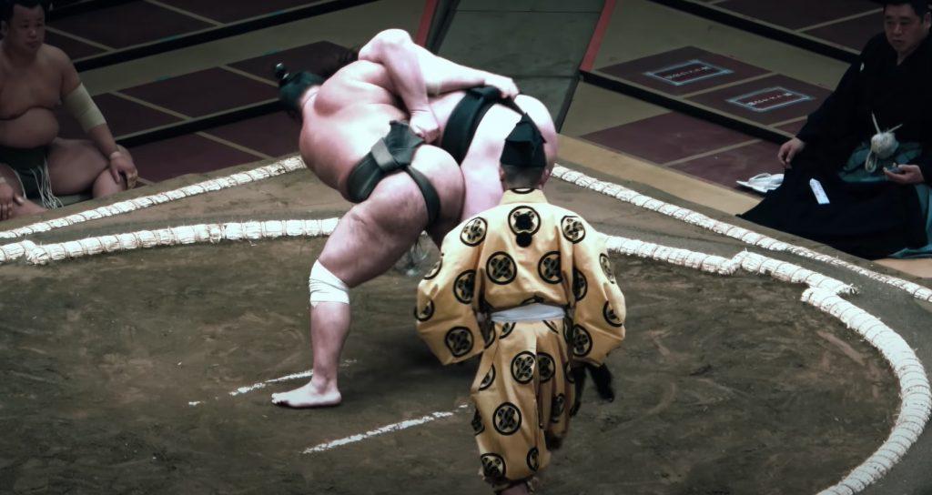 Борец сумо из Мелитополя стал сенсацией для спортсменов Японии (ВИДЕО)