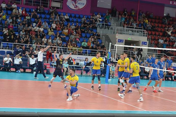 В Запорожье сборная Украины выиграла все свои матчи (ФОТО)